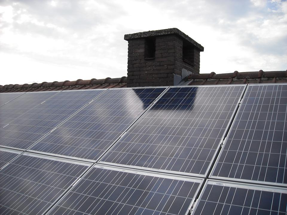 Крышная солнечная электрическая станция