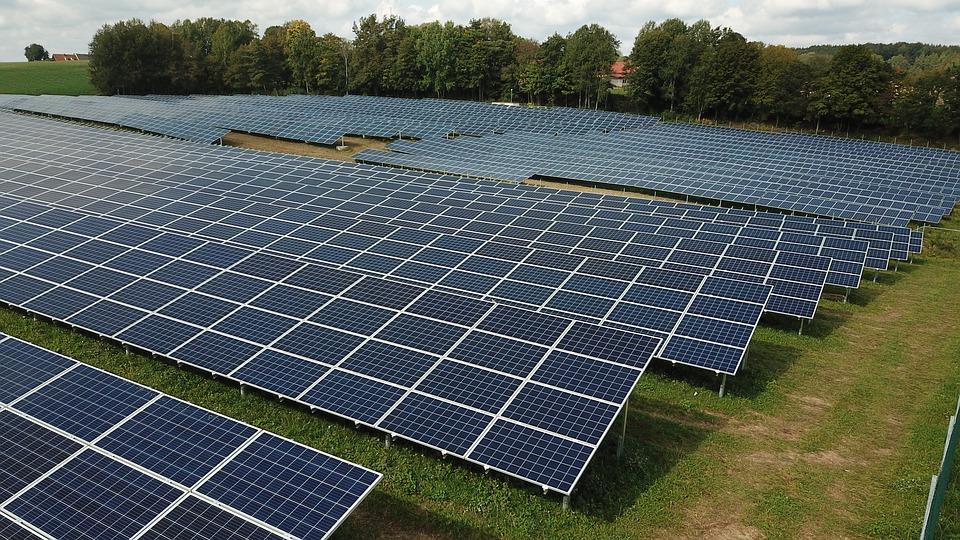 Солнечная электрическая станция большой мощности