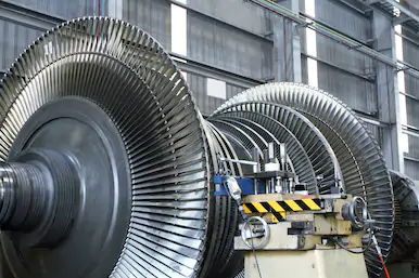Rotor of a steam turbine 2