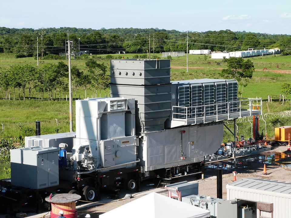 Mobile gas turbine