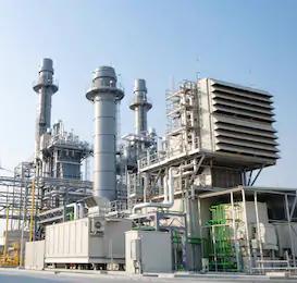 Газотурбинная электростанция максимальной заводской готовности
