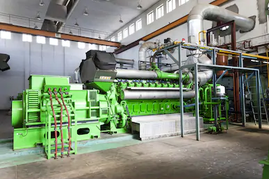 High power diesel-generator set