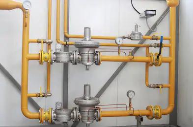 Газовый редуцирующий клапан мембранного типа