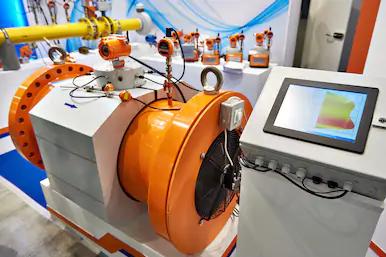 Измерительный газовый хроматограф с монитором